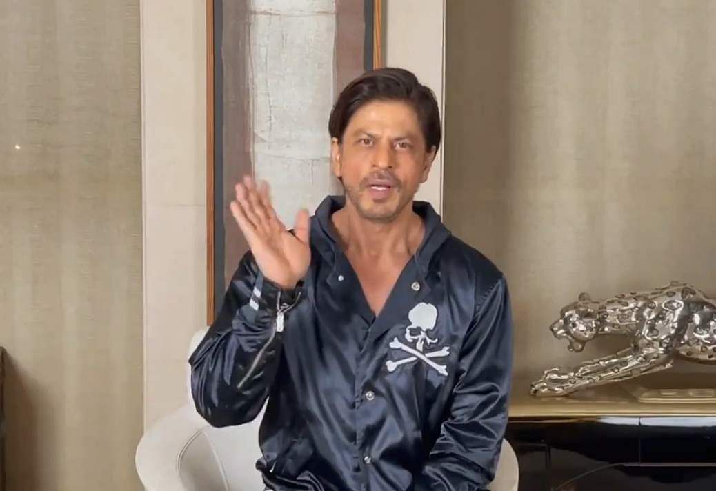 'See you on the big screen in 2021': Shah Rukh Khan's New Year message to fans