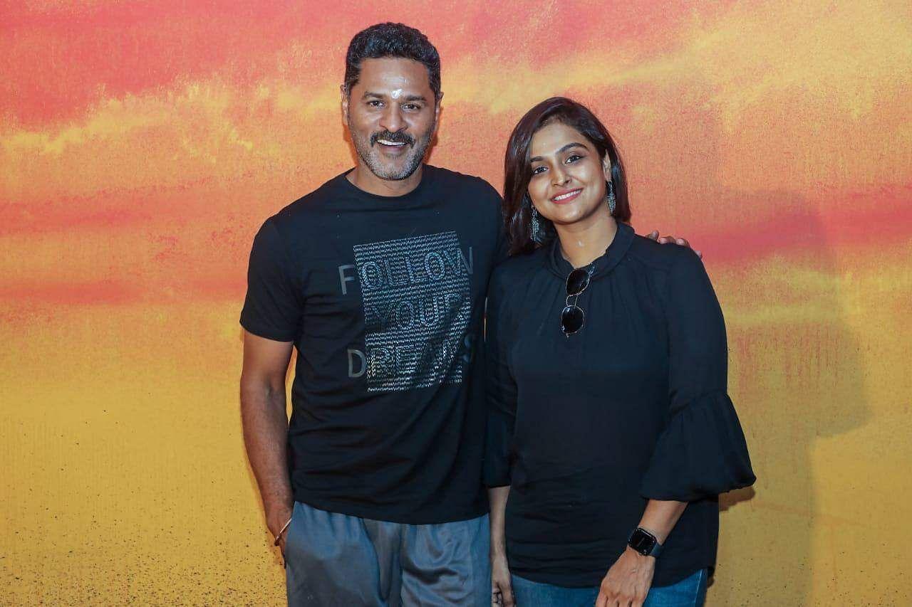 Prabhudeva, Remya Nambeesan to team up again
