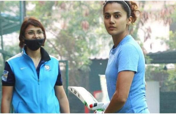 Taapsee Pannu begins training for Shabaash Mithu