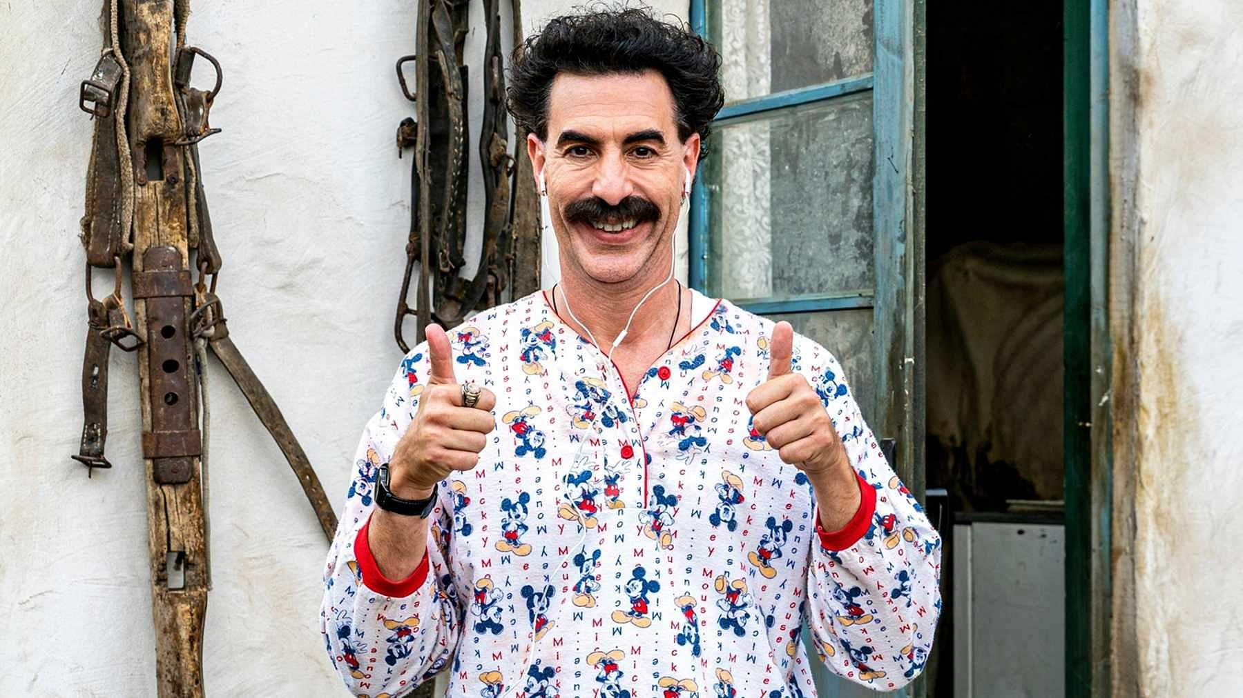 Sacha Baron Cohen says he won't return as Borat