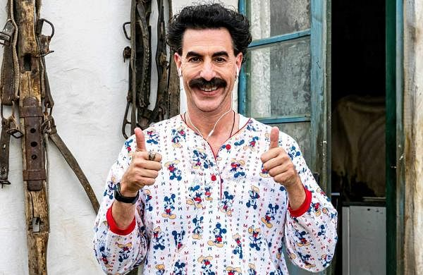 Sacha Baron Cohen says he won't return as Borat