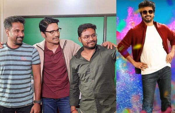 SJ Suryah with director Cibi Chakaravarthi