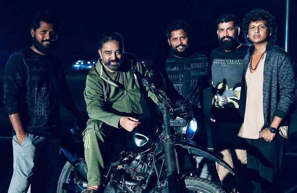 Kamal and Vikram crew