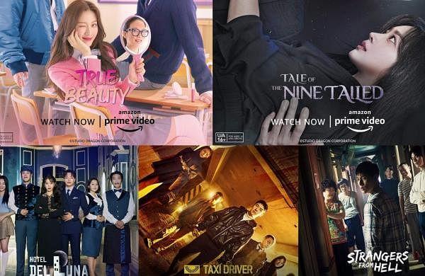 Korean dramas in Amazon Prime
