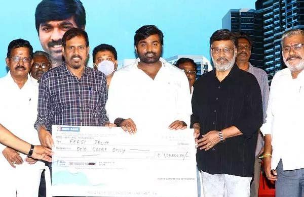Vijay Sethupathi donates Rs 1 crore to FEFSI