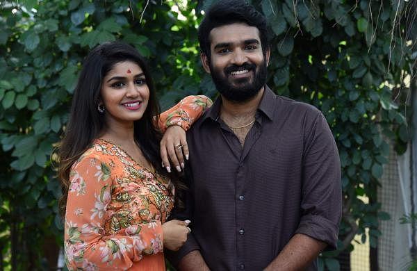 Kiran Abbavaram and Sanjana Anand