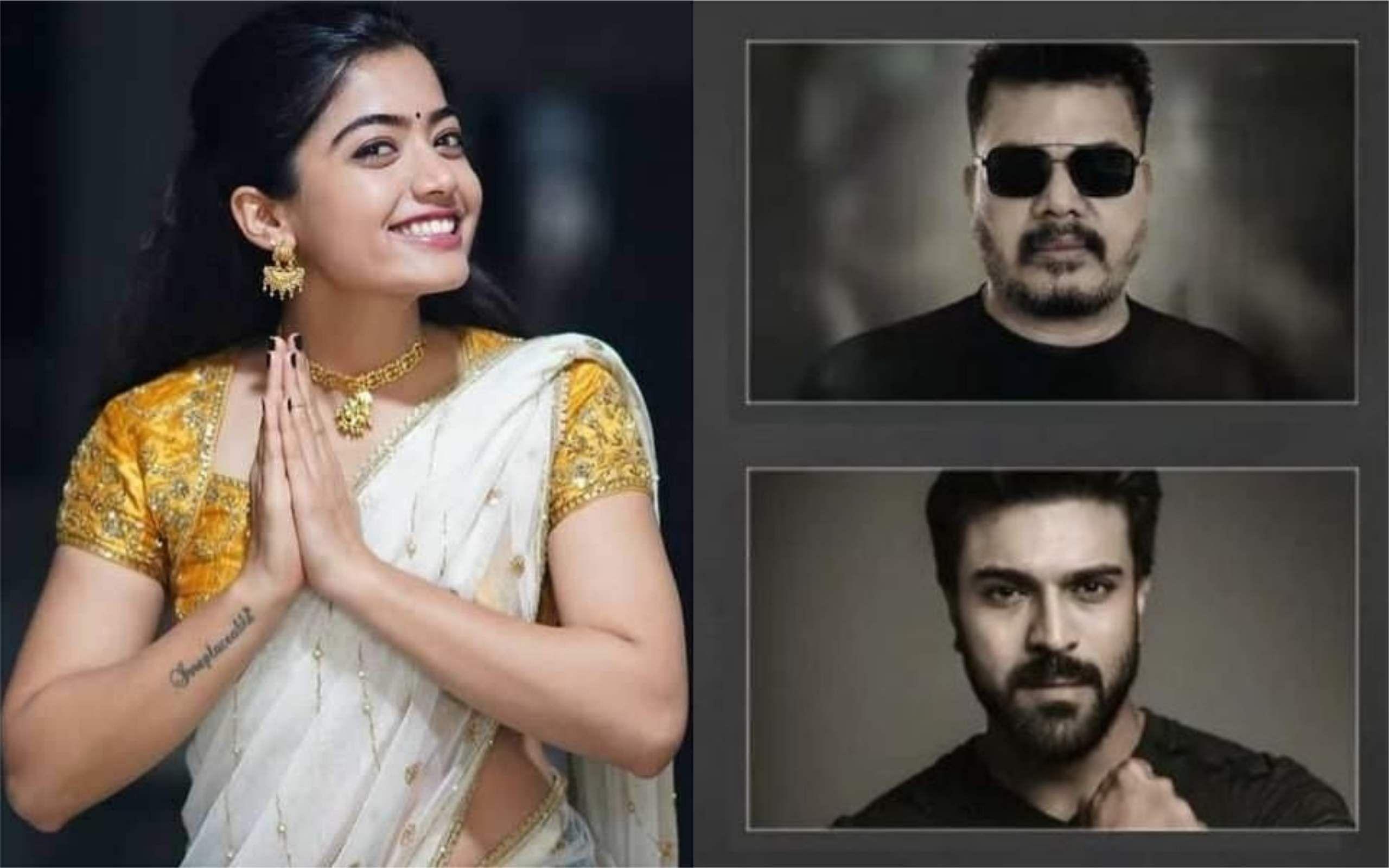 Ram Charan suggests Rashmika Mandanna for RC 15?- Cinema express