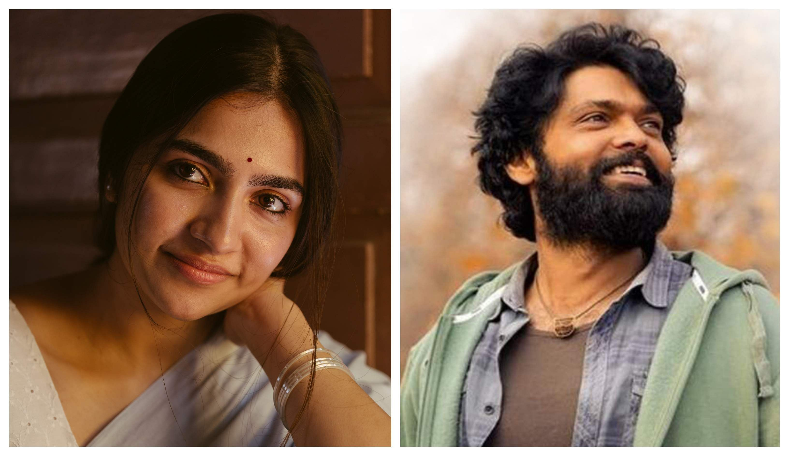 Rukmini Vasanth and Rakshit Shetty