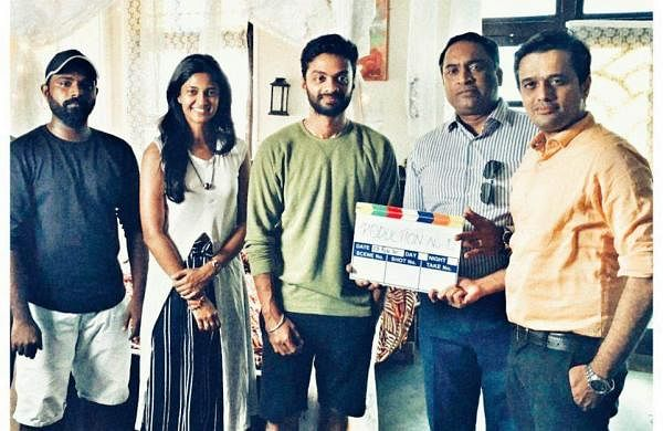 Keerthy Pandian and Vinoth Kishan's film goes on floors