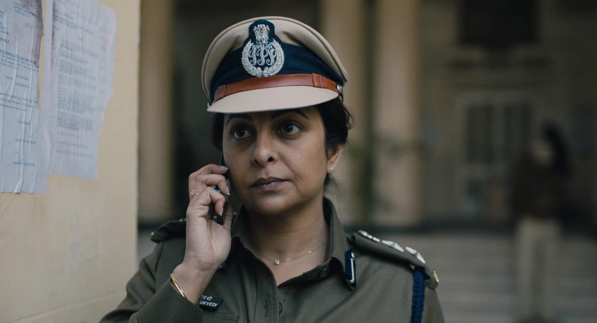A still from Delhi Crime