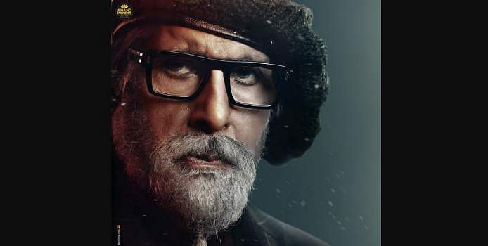 Amitabh Bachchan's look from Chehre