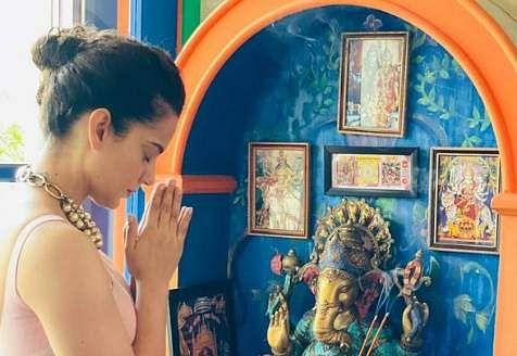 Kangana Ranaut begins Tejas