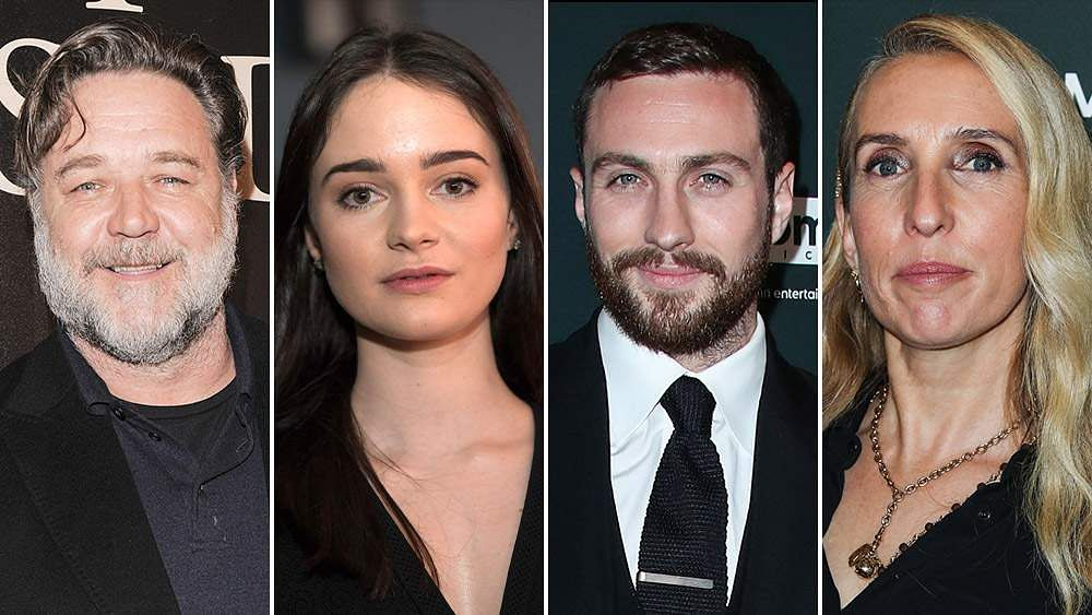 Russell Crowe, Aisling Franciosi to act in Sam Taylor-Johnson's Rothko