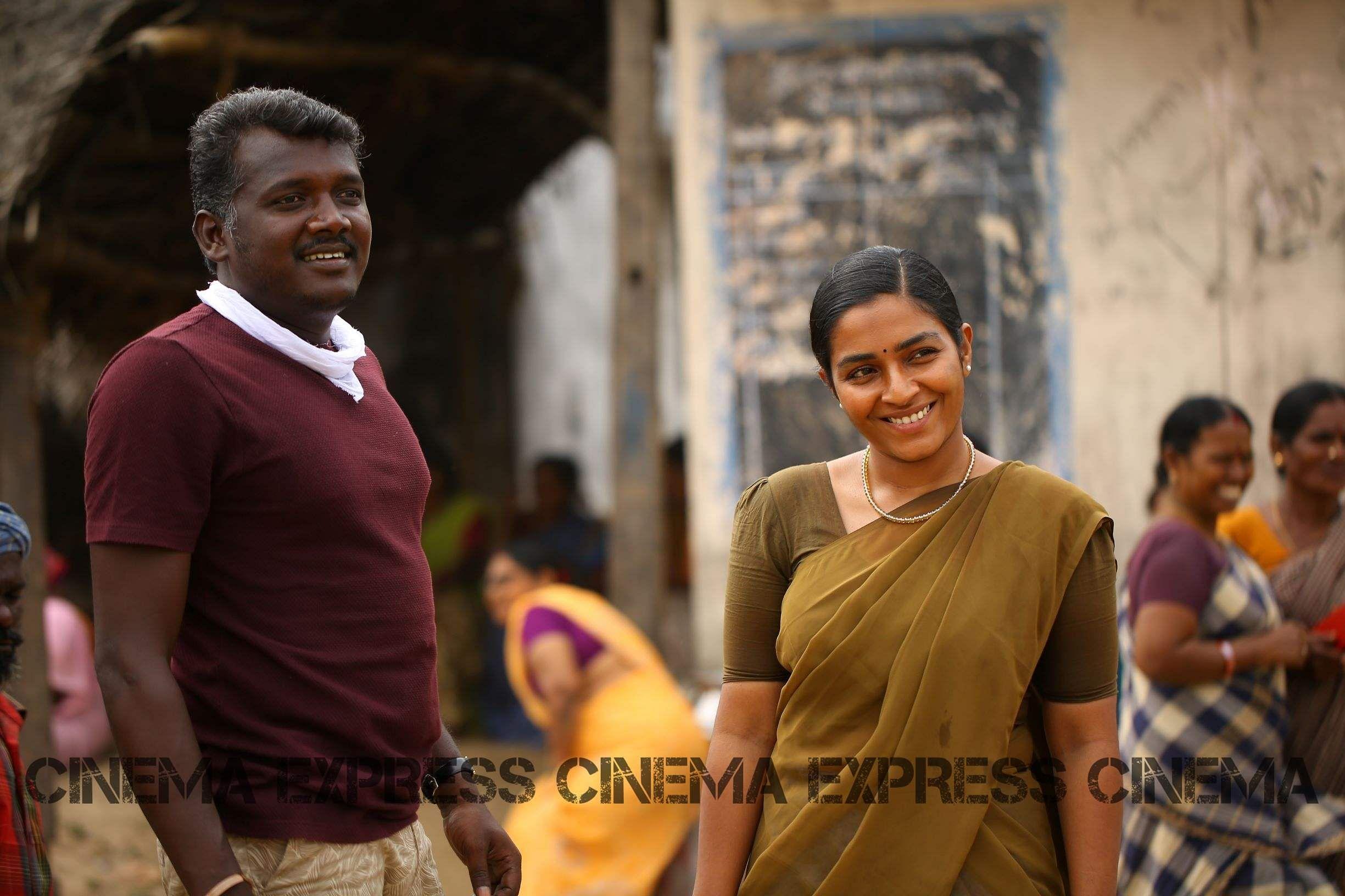 Mari Selvaraj with Rajisha Vijayan