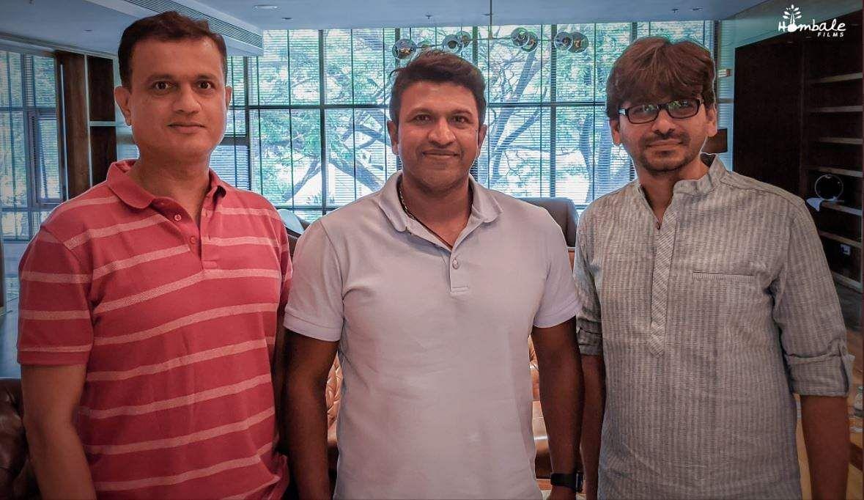 Puneeth Rajkumar, Pawan Kumar to team up for Hombale's next production