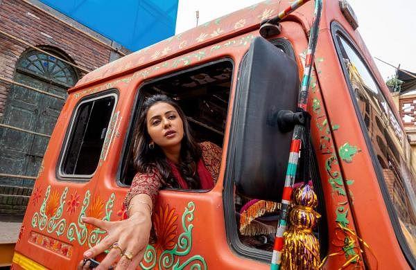A once in a lifetime experience: Rakul Preet Singh on driving a truck in Sardar Ka Grandson