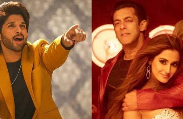 Salman Khan thanks Allu Arjun for Seeti Maar, gets this response