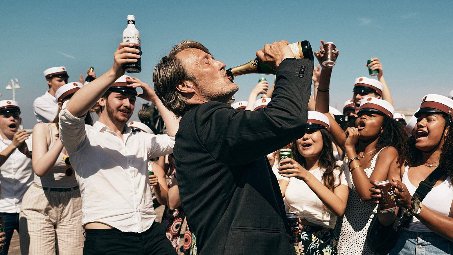 Another Round Movie Review:Mads Mikkelsen sparkles in this intoxicating tragicomedy