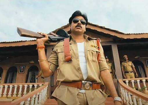 Arguably his biggest commercial success, Gabbar Singh was an official remake of Salman Khan-vehicle Dabangg. The 2012 film was a return to form at the box office for Pawan after a string of failures.