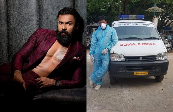 Actor Arjun Gowda turns ambulance driver