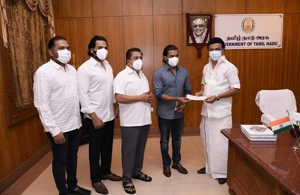 Suriya, Karthi contribute one crore to the CM COVID-19 relief fund