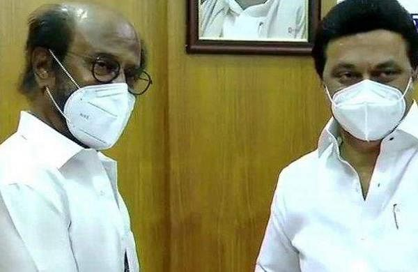 Rajinikanth donates Rs 50 lakhs to CM COVID-19 relief fund