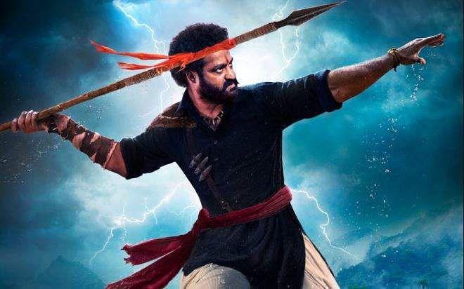 Jr NTR's new look as Komaram Bheem from RRR released
