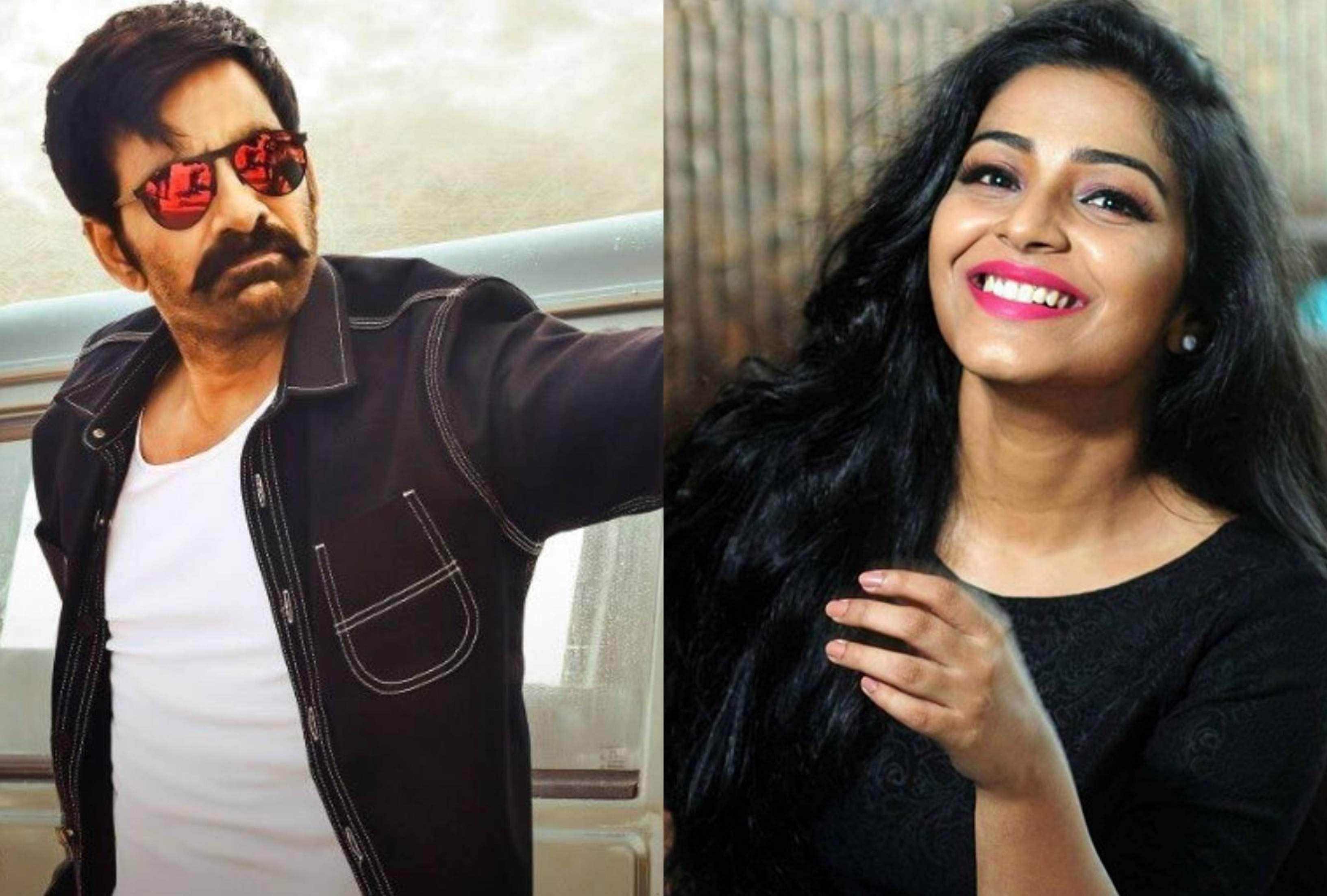 Rajisha Vijayan to make her Telugu debut opposite Ravi Teja
