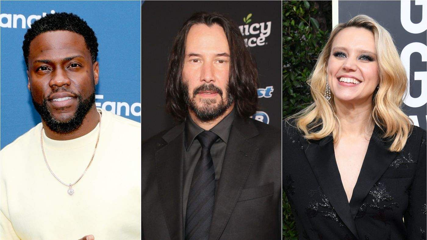 Kevin Hart, Keanu Reeves And Kate McKinnon join DC League Of Super-Pets
