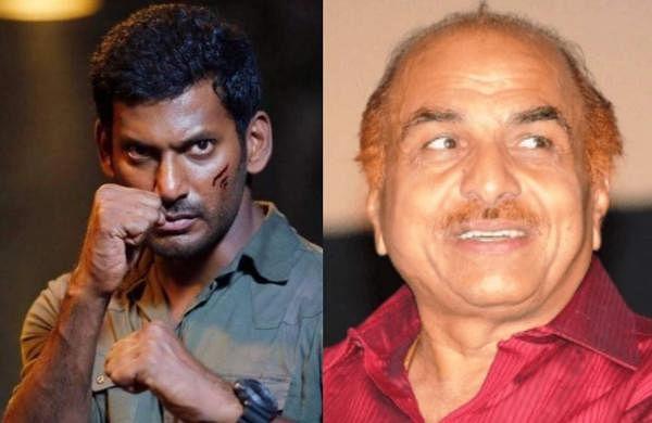 Vishalfilesa police complaint against producer RB Choudhary