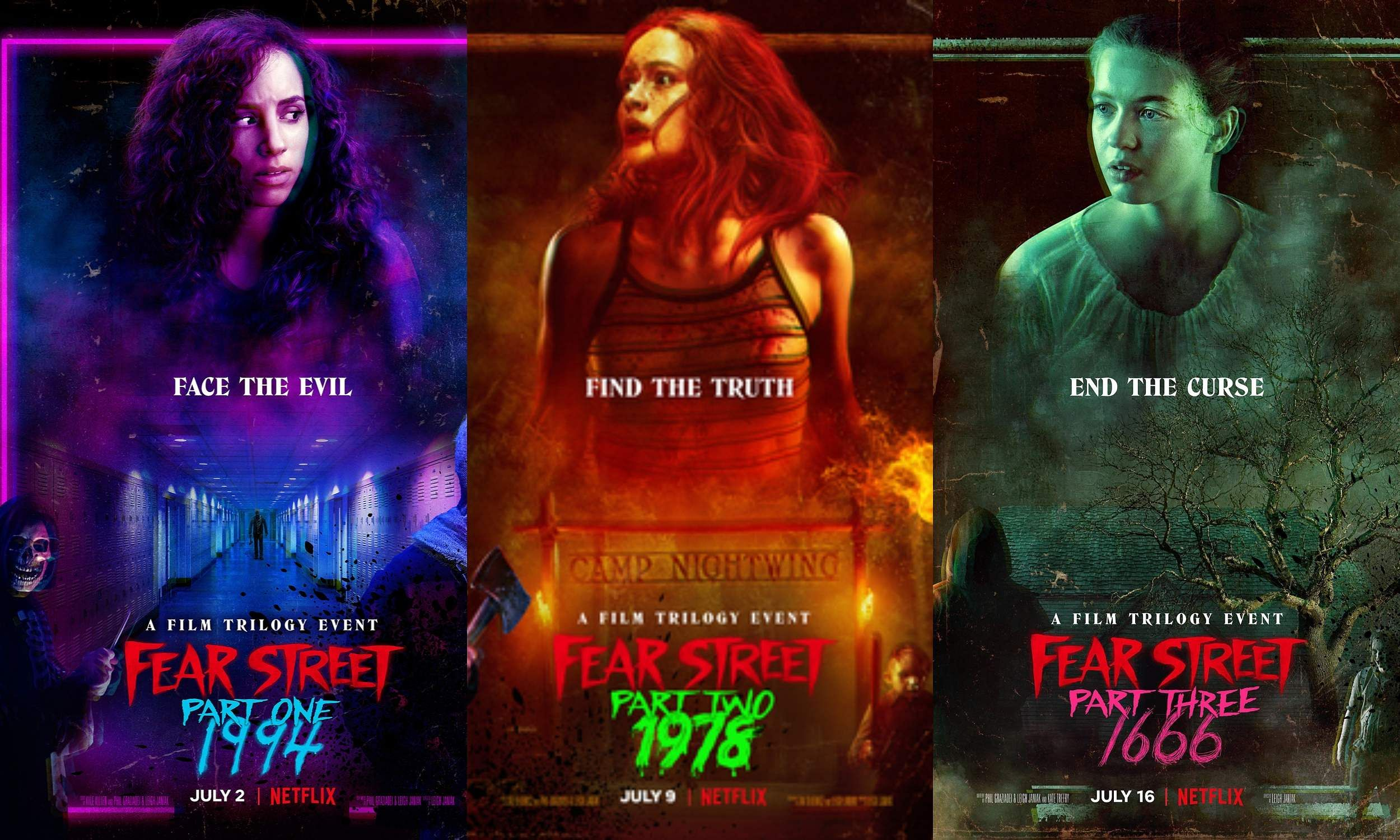 Fear Street Trilogy Review: Exhilaration overshadows theflaws in this engaging tribute toslasher flicks