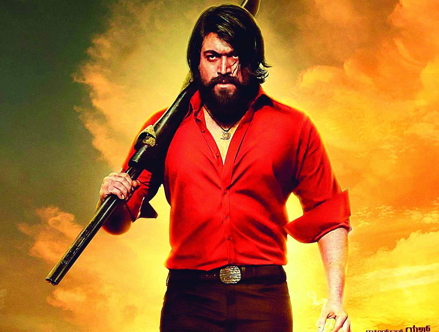 A still from KGF: Chapter 2