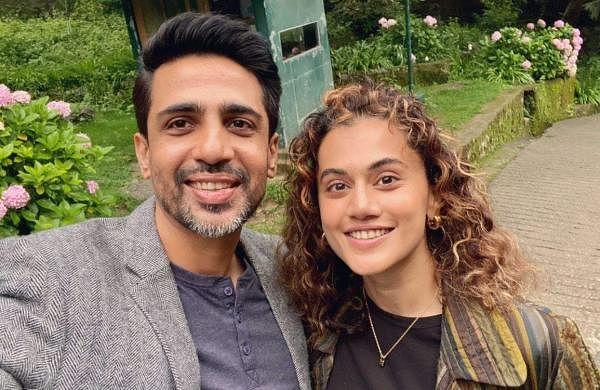 Taapsee Pannu, Gulshan Devaiah begin shooting for Blurr