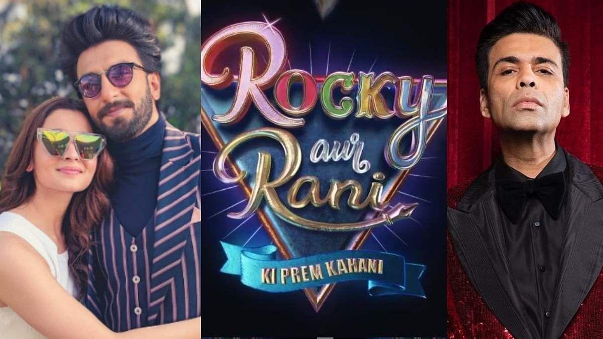Rocky Aur Rani Ki Prem Kahani: Ranveer Singh, Alia Bhatt to headline Karan Johar's new directorial