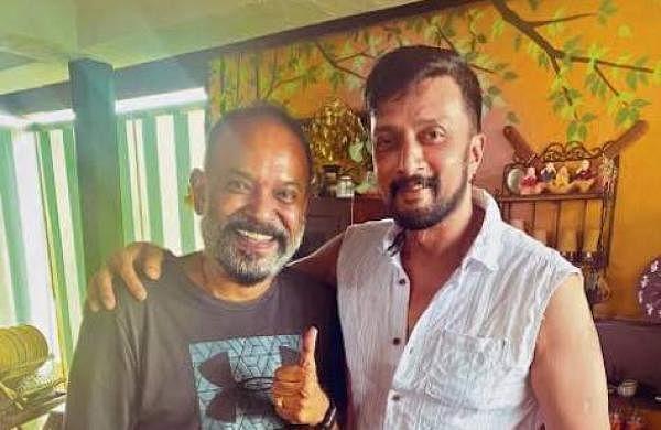 Venkat Prabhu and Kichcha Sudeep