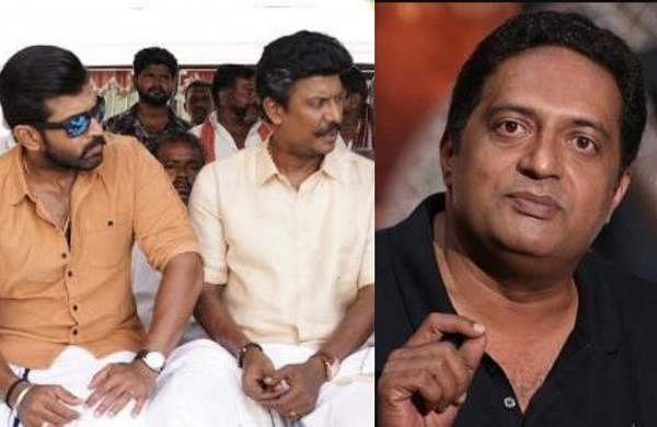 Samuthirakani replaces Prakash Raj in Arun Vijay-Hari film