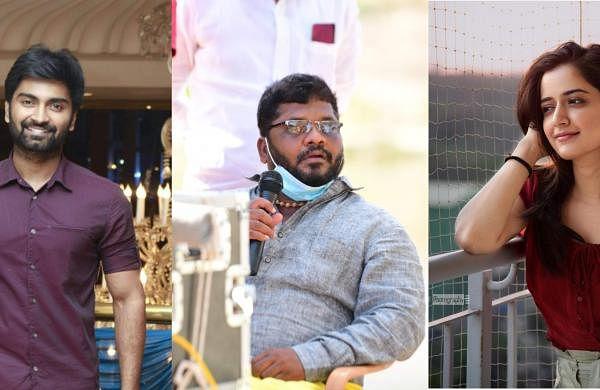Atharvaa-Sarkunam film goes on floors