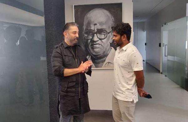 Kamal Haasan with Pa Ranjith