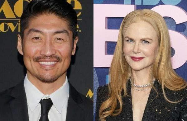 Brian Tee and Nicole Kidman