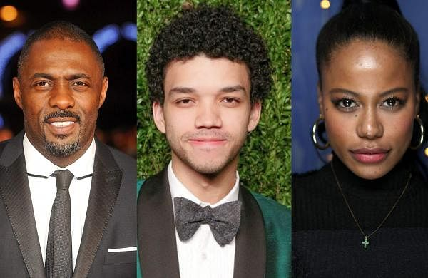 Idris Elba, Justice Smith, andTaylour Paige
