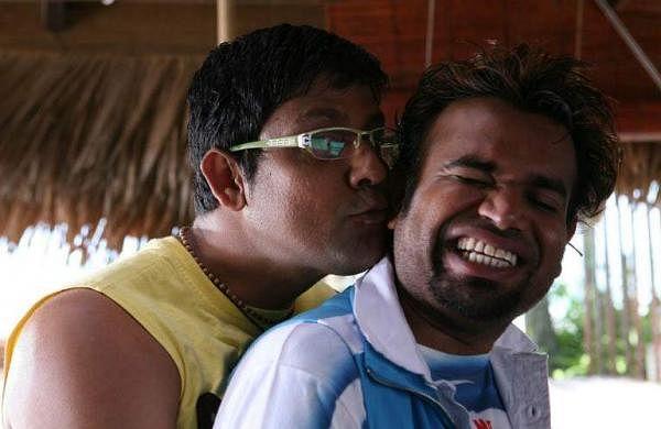 Sampath and Premgi in Goa